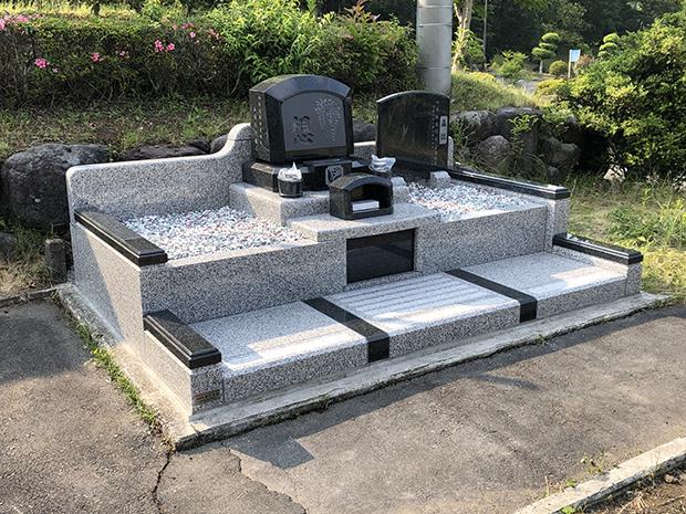 野村石材 施工事例001 [静岡県 御殿場 墓石 デザイン墓石 お墓 ]